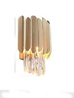 baratos -QIHengZhaoMing Cristal LED / Moderno / Contemporâneo Luminárias de parede Sala de Estar / Quarto de Estudo / Escritório Metal Luz de