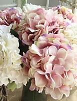 abordables -Fleurs artificielles 1 Une succursale Fleurs de mariage / Européen Hortensias Fleur de Table