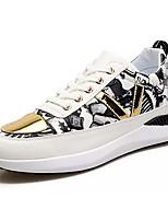 economico -Per uomo Scarpe PU (Poliuretano) Autunno Comoda Sneakers Bianco / Nero / Rosso