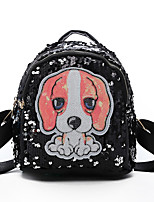 cheap -Women's Bags PU(Polyurethane) Backpack Appliques Red / Blushing Pink / Rainbow