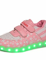 cheap -Girls' Shoes PU Fall Comfort Sneakers for Outdoor Gold Silver Pink