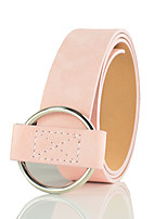 cheap -Women's Party Wide Belt - Solid Colored