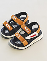 cheap -Girls' Shoes Leatherette Spring & Summer Slingback Sandals for Kids / Toddler White / Black / Yellow