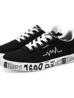 cheap -Men's Shoes Rubber Fall Comfort Sneakers Black / Gray / Red
