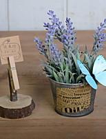 preiswerte -Künstliche Blumen 1 Ast Stilvoll / Rustikal Lavendel Tisch-Blumen