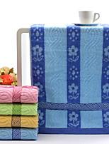 abordables -Qualité supérieure Serviette, Fleur Mélangé polyester / coton / Pur coton 1 pcs