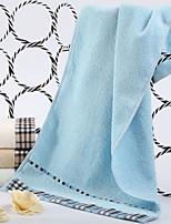 Недорогие -Высшее качество Полотенца для мытья, Однотонный Полиэстер / хлопок 1 pcs