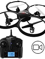 abordables -RC Drone UDI R / C U818A BNF 4 Canaux 6 Axes 2.4G Avec Caméra HD 2.0MP 720P Quadri rotor RC Mode Sans Tête Quadri rotor RC / Télécommande