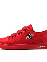 cheap -Men's Shoes Rubber Summer Comfort Sneakers Black / Red / Black / White