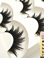 cheap -Eye 1 Volumized / Natural / Curly Daily Makeup Full Strip Lashes / Thick Make Up Professional / Portable Portable / Professional Daily