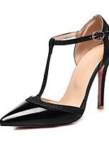 economico -Per donna Scarpe Vernice Primavera estate Decolleté Tacchi Footing A stiletto Appuntite Argento / Rosso / Carne