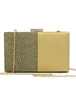 cheap -Women's Bags PU Evening Bag Buttons Blushing Pink / Maroon / Silver