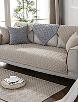 cheap -Sofa Cushion Solid Colored Reactive Print Cotton / Polyester Slipcovers