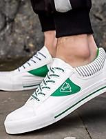 economico -Per uomo Scarpe Di corda Autunno Comoda Sneakers Bianco / Nero / Verde