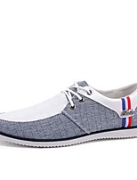 cheap -Men's Shoes Fabric Fall Light Soles Sneakers Gray / Blue