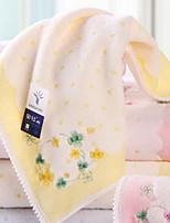 abordables -Style frais Serviette de bain Serviette, Floral / Botanique Qualité supérieure Polyester / Coton 100% Coton Etoffe jacquard
