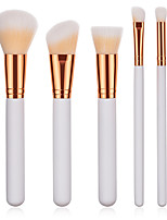cheap -5 pcs Makeup Brushes Professional Makeup Brush Set Nylon fiber Eco-friendly / Soft Wooden / Bamboo
