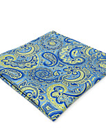 cheap -Men's Vintage / Party / Work Pocket Squares - Color Block / Paisley / Jacquard