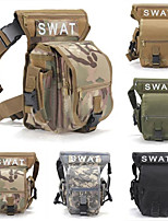cheap -5L Waist Bag / Waistpack Hunting Hiking Camping Military Travel Wearable Multifunctional Black Army Green Grey Camouflage Khaki