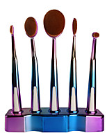 cheap -5 pcs Makeup Brushes Professional Makeup Brush Set Nylon fiber Eco-friendly / Soft Plastic