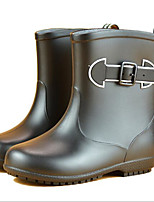 cheap -Girls' Shoes Leatherette Spring & Summer Rain Boots Boots for Black / Red / Blue