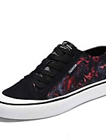economico -Per uomo Scarpe Tessuto Autunno Suole leggere Sneakers Nero / Rosso / Black / Blue / Nero / Giallo