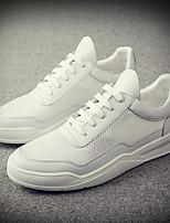 cheap -Men's Shoes PU(Polyurethane) Summer Comfort Sneakers White / Black