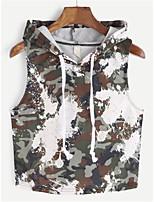economico -T-shirt Per donna Essenziale Camouflage