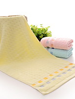 abordables -Style frais Serviette, Lignes / Vagues Qualité supérieure Mélangé polyester / coton Pur coton Etoffe plaine 1pcs