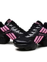Недорогие -Муж. / Жен. Танцевальные кроссовки / Обувь для модерна Полотно На каблуках на открытом воздухе / Тренировочные На толстом каблуке