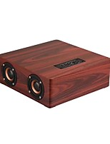 abordables -Q5 Bluetooth 4.2 Audio (3.5mm) / TF Card slot Enceinte de Bibliothèque Jaune / Marron / Marron-Or