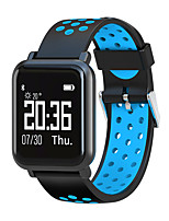 cheap -Smartwatch STSN60 for Android 4.3 and above / iOS 7 and above Touch Screen / Heart Rate Monitor / Water Resistant / Water Proof Pedometer