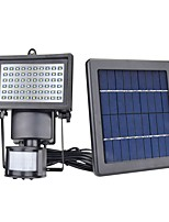 cheap -1pc 5W Wall Light / Lawn Lights / LED Floodlight Solar / Infrared Sensor / Dimmable White 7V Garden / Courtyard / Outdoor Lighting