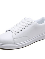 economico -Per uomo Scarpe PU (Poliuretano) Estate Comoda Sneakers Bianco / Nero / Bianco / nero