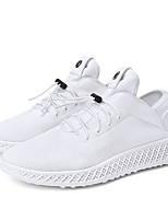 cheap -Men's Shoes Knit Summer Comfort / Light Soles Sneakers White / Black / Black / Red