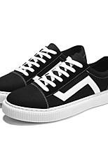 cheap -Men's Shoes Tulle Summer Comfort Sneakers Black / White / Black / Green / Black / Yellow
