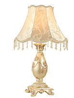baratos -Rústico / Campestre Decorativa Luminária de Mesa Para Metal Dourado Prata Amarelo