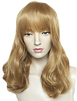 cheap -Wig Accessories / Synthetic Wig Wavy Layered Haircut Synthetic Hair Cute / Heat Resistant / Party Brown Wig Women's Long Cosplay Wig /