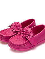 cheap -Girls' Shoes PU Spring First Walkers Sneakers for White / Peach / Pink