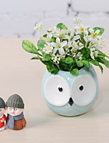 cheap -Artificial Flowers 1 Branch Stylish Vase Tabletop Flower