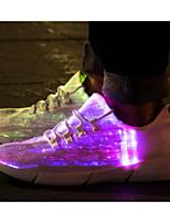 economico -Unisex Scarpe Tulle Primavera Comoda / Scarpe luminose Sneakers Bianco