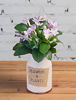 Недорогие -Искусственные Цветы 1 Филиал Деревня Азалия Букеты на стол