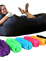 cheap -Inflatable Sofa Sleep lounger / Air Sofa / Air Bed Outdoor Fast Inflatable / Portable / Waterproof Polyester Taffeta Polyster 260*70cm
