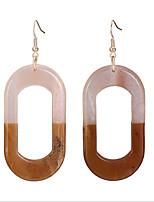 cheap -Women's Stud Earrings / Drop Earrings / Hoop Earrings - European, Korean, Fashion Light Coffee For Wedding / Daily