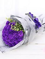 Недорогие -Искусственные Цветы 1 Филиал Свадебные цветы Гвоздика Букеты на стол
