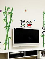 Недорогие -Декоративные наклейки на стены - Простые наклейки Цветочные мотивы / ботанический Гостиная