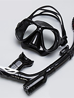 cheap -Diving Package / Snorkeling Set - Snorkel, Diving Mask - Anti-Fog Snorkeling, Diving, Swimming Silicone  For  Adults