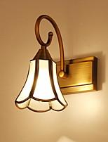 cheap -Anti-Glare Rustic / Lodge Bathroom Lighting Bedroom / Bathroom Metal Wall Light 220-240V 40W