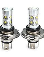 cheap -SENCART 2pcs H4 Car / Motorcycle Light Bulbs 50W SMD LED 3100lm 10 LED Fog Light For universal All years