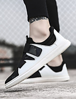 cheap -Men's Shoes PU Summer Comfort Loafers & Slip-Ons for Outdoor White Black